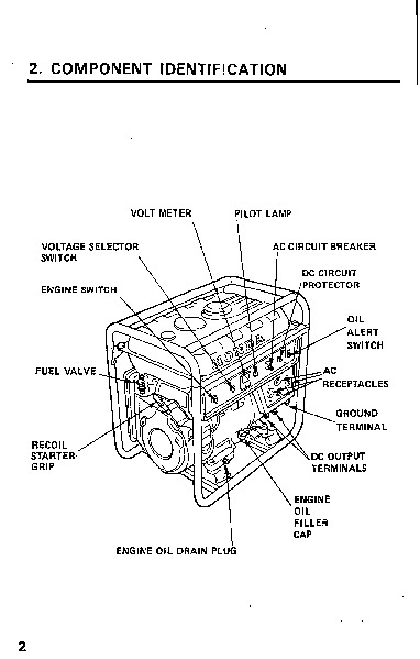 Honda Generator Em3000 Em4000 Owners Manual additionally 208 likewise D 160 Onan Engine Repair Kits moreover Air Cleaner Assembly further 118. on electric generator covers