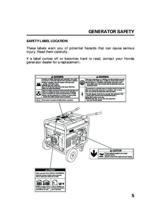 honda generator eb3800x eb5000x eb6500x portable owners manual rh home appliance needmanual com honda eb6500x service manual honda eb6500 manual
