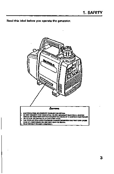 honda generator ex350 owners manual rh home appliance needmanual com honda generator eu6500is owner's manual honda generator owner's manual eu3000is
