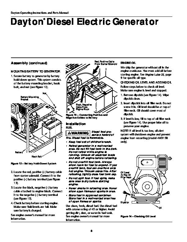 Diesel Generator Repair Manual