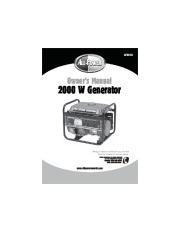 home power 6000 generator manual