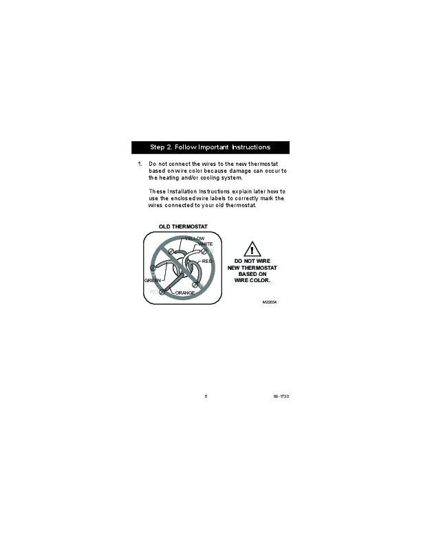 honeywell programmable thermostat manual pdf rth7500d