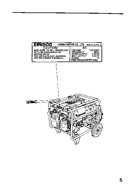 Honda Eb6500 Generator Wiring Diagram