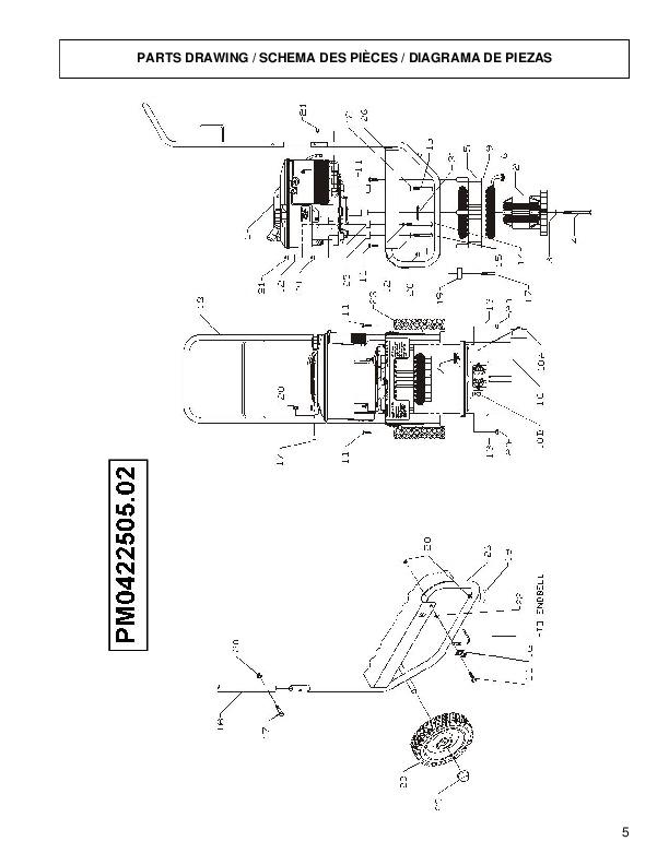 piezas repair manual