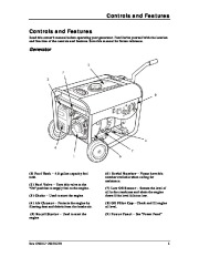 Champion 3000 3500 Generator Owners Manual page 9
