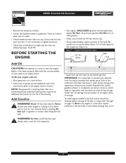 Generac 4000XL Generator Owners Manual page 5
