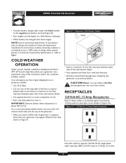 Generac 4000XL Generator Owners Manual page 9
