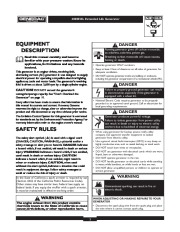 Generac 4000EXL Generator Owners Manual Owners Manual page 2