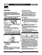 Generac 4000EXL Generator Owners Manual Owners Manual page 5
