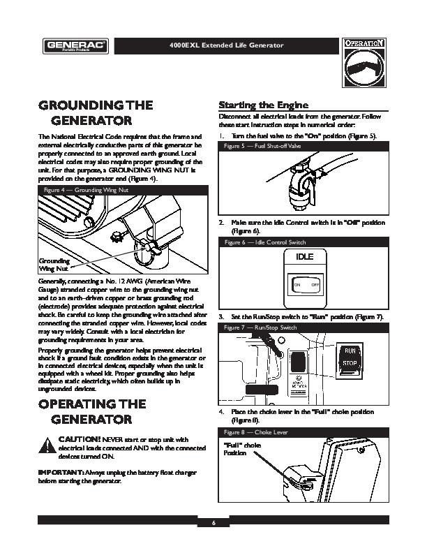 generac guardian generator parts diagram  generac  free