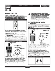 Generac 4000EXL Generator Owners Manual Owners Manual page 9