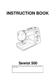 Janome Sewist 500 Sewing Machine Instruction Owners Manual page 1