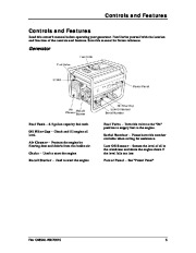 Champion 3500 4000 Generator Owners Manual page 9