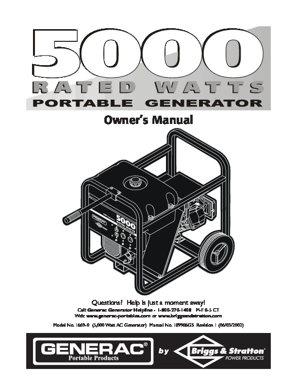 Generac Generator Owners Manual on Electric Motorcycle Wiring Diagram