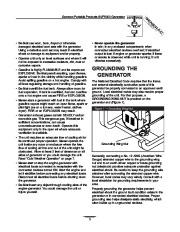 Generac SVP5000 Generator Owners Manual page 3