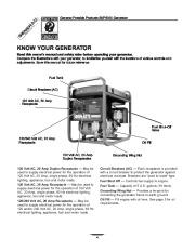 Generac SVP5000 Generator Owners Manual page 4