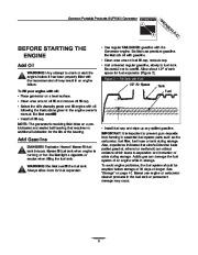 Generac SVP5000 Generator Owners Manual page 5