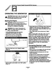 Generac SVP5000 Generator Owners Manual page 6