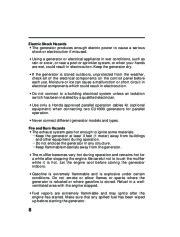 Honda Generator EU1000i Portable Owners Manual