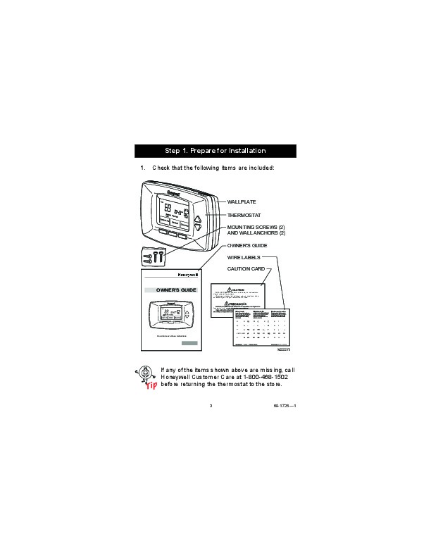 honeywell rth7400d programmable thermostats owners guide