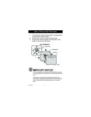 Honeywell RTH7400D Programmable Thermostat Owners Guide page 6