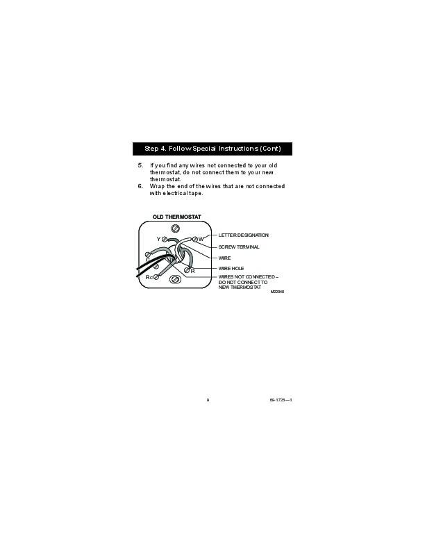 honeywell thermostat wiring diagram 7400 honeywell dual