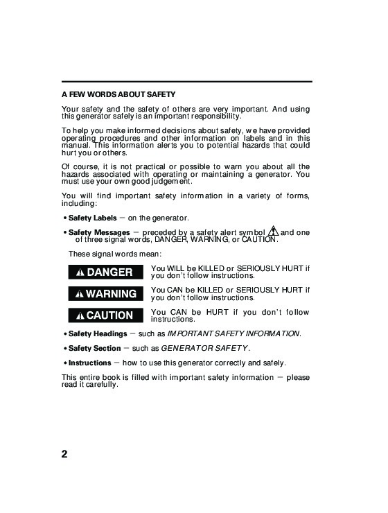 Honda Generator EG5000X Owners Manual 4 honda generator eg5000x owners manual honda eb5000 generator wiring diagram at edmiracle.co