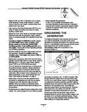 Generac 5500XL Generator Owners Manual page 3