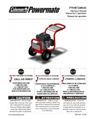 Coleman Powermate PW0872400 Generator Owners Manual page 1