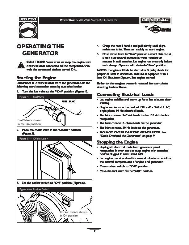 Generac generators Service Manual xp8000e