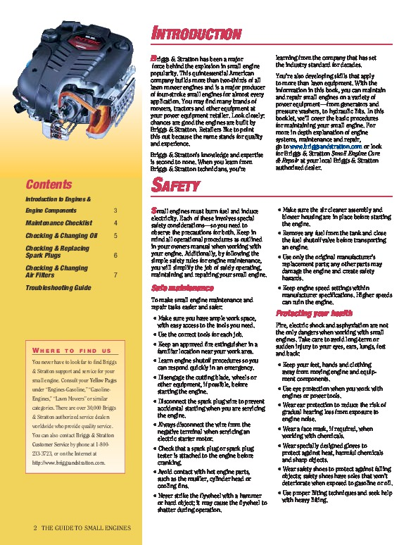 Briggs and stratton repair manual pdf download briggs and stratton small engine care and repair generator manual page fandeluxe Image collections