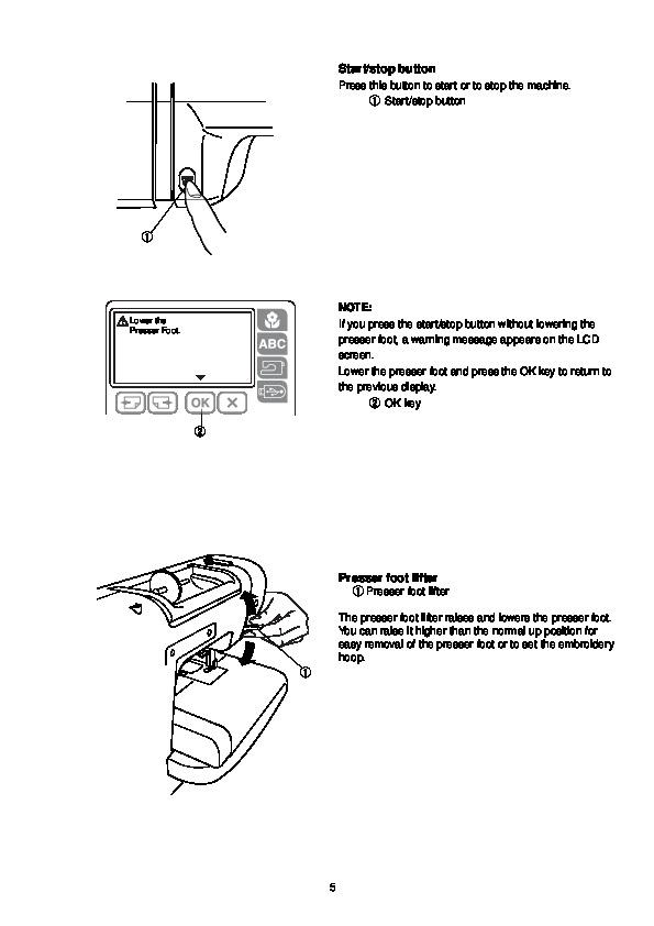 Инструкция Janome Mc 200E