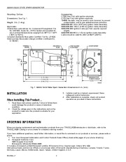 Honeywell Solid State Spark Generator Q624A Owners Manual page 2