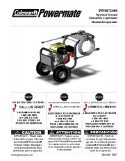 Coleman Powermate PW0872400 Generator Service Manual page 1