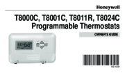 honeywell programmable thermostats t8000c t8001c t8011r t8024c rh home appliance needmanual com  honeywell thermostat t8001c manual